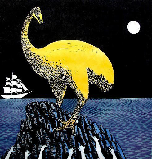 Moon, Ghosts and Moa, Roger Peet